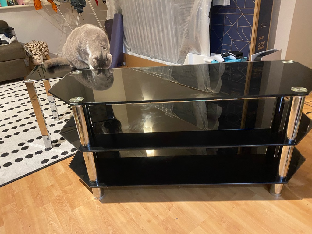 TV TABLE stand and side table