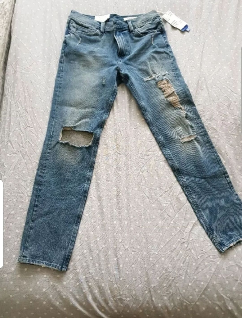 Mens H &M ripped Jeans