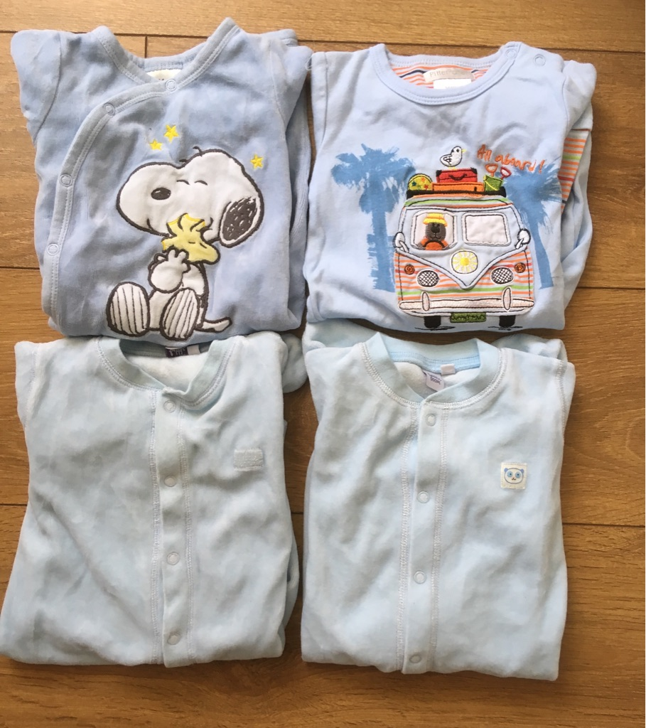Babygrows for boy age 3-6 months