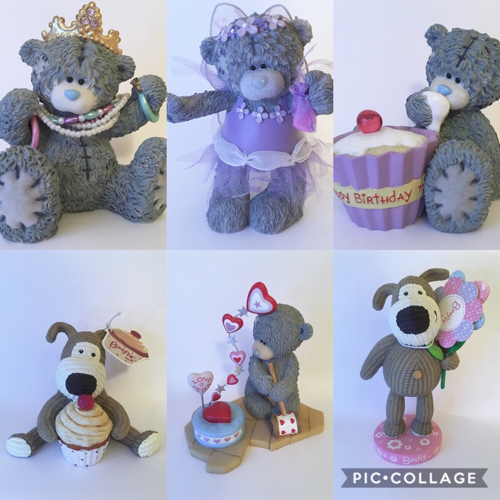 Me to you bear and Boofle ornaments
