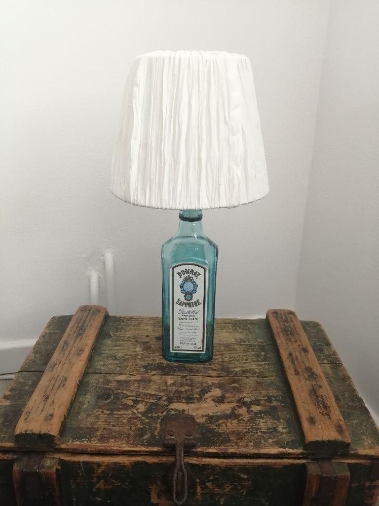 Side table lamp Bombay Sapphire Gin
