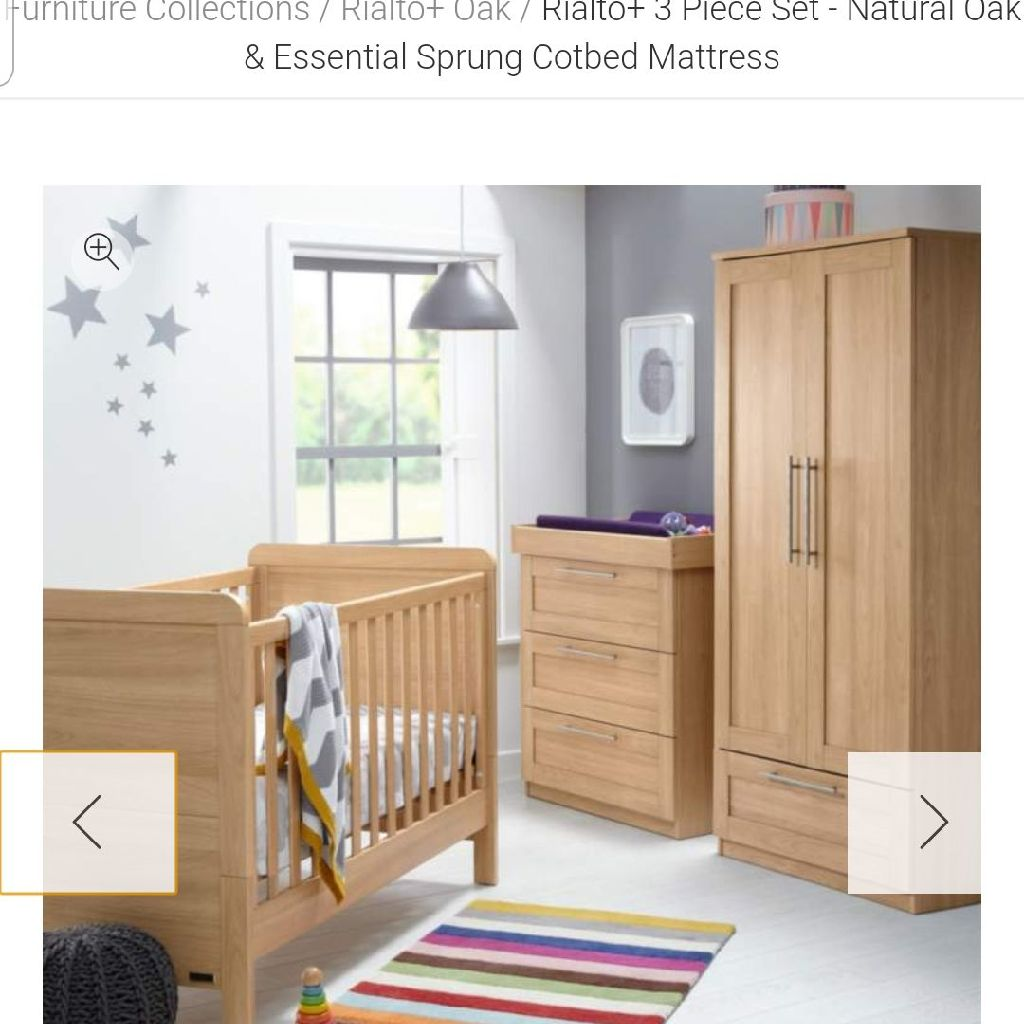 Mamas and papas furniture set
