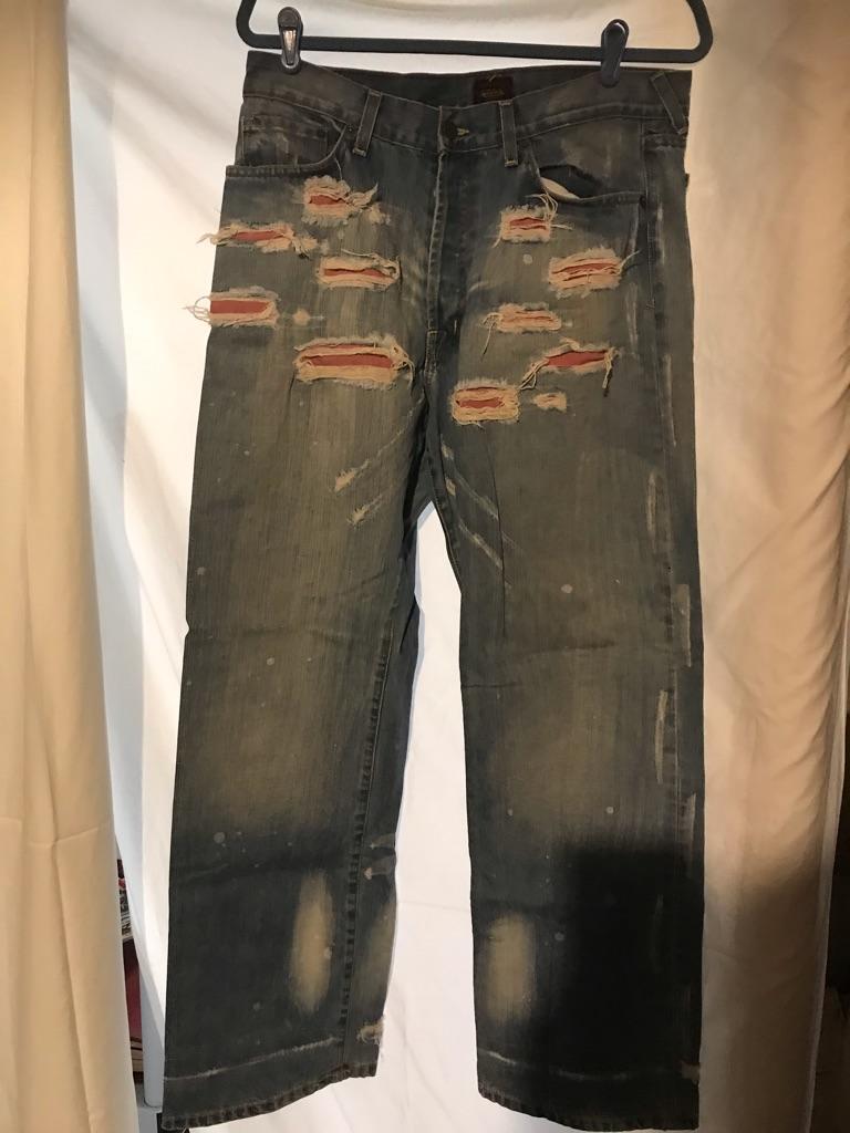Vintage Von Dutch Distressed Jeans