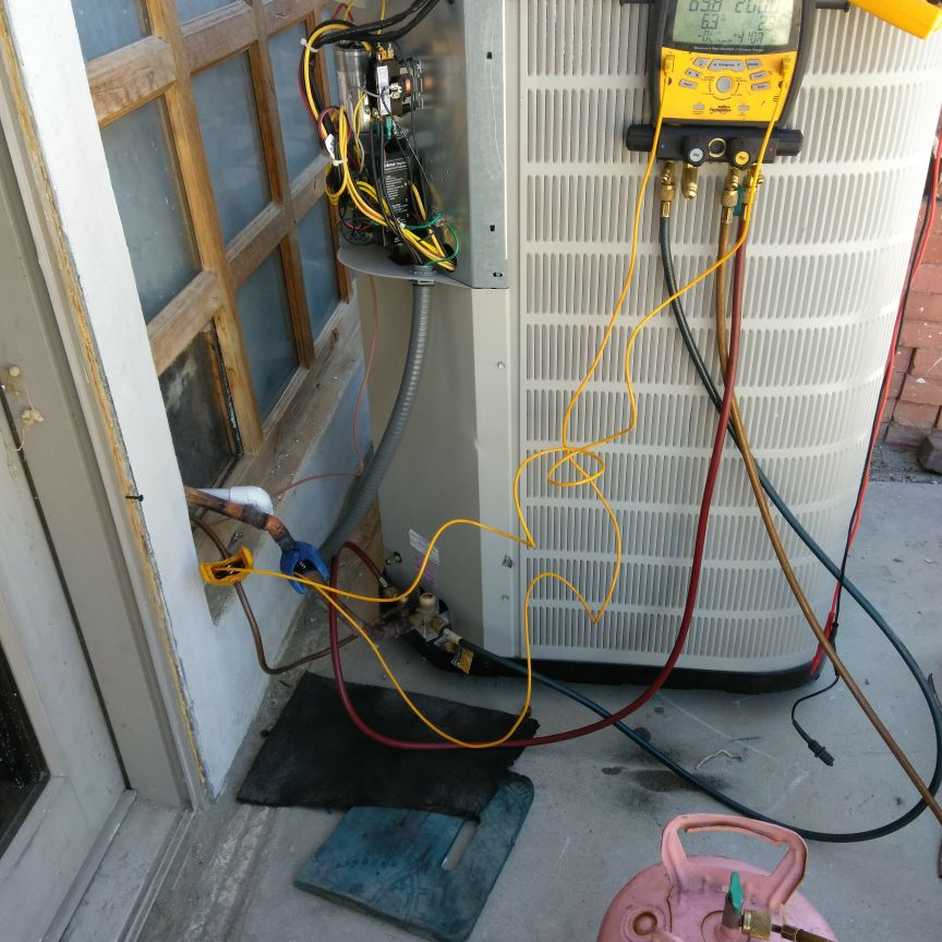 Air conditioning systems repairs