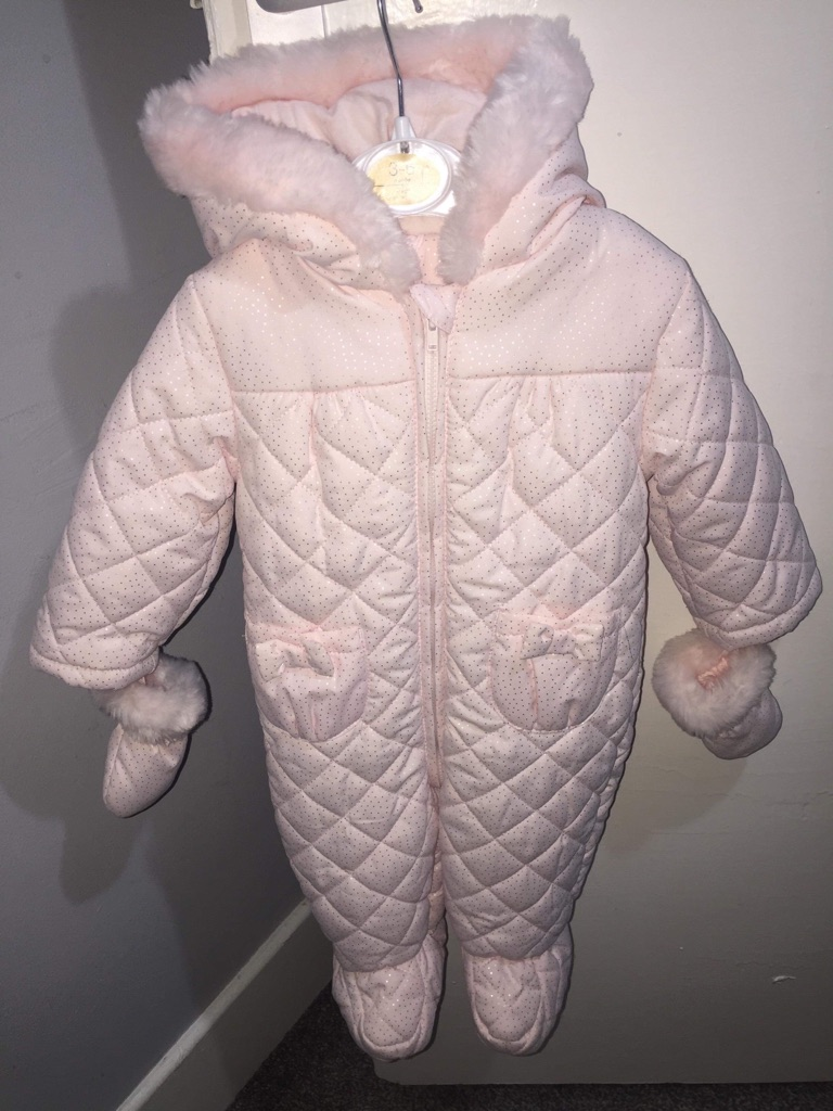 Baby Girls Snow Suit 3-6month