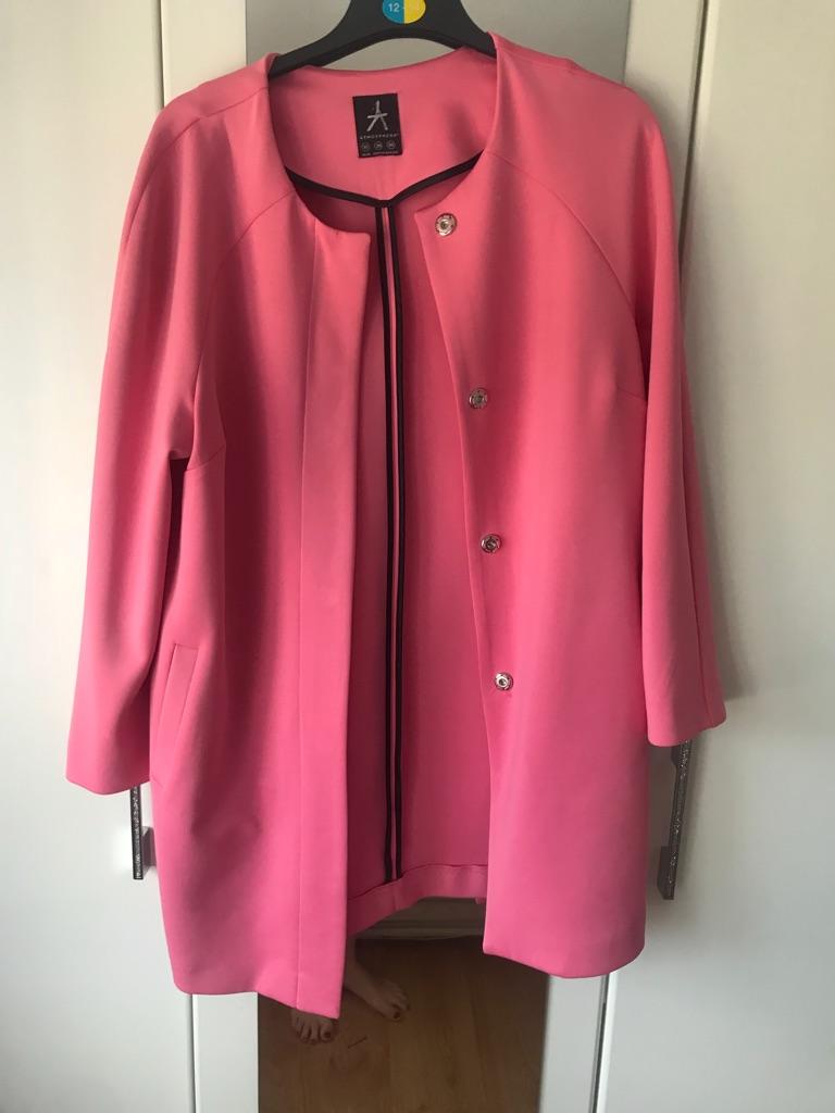 **LIKE NEW** pink primark jacket size 10