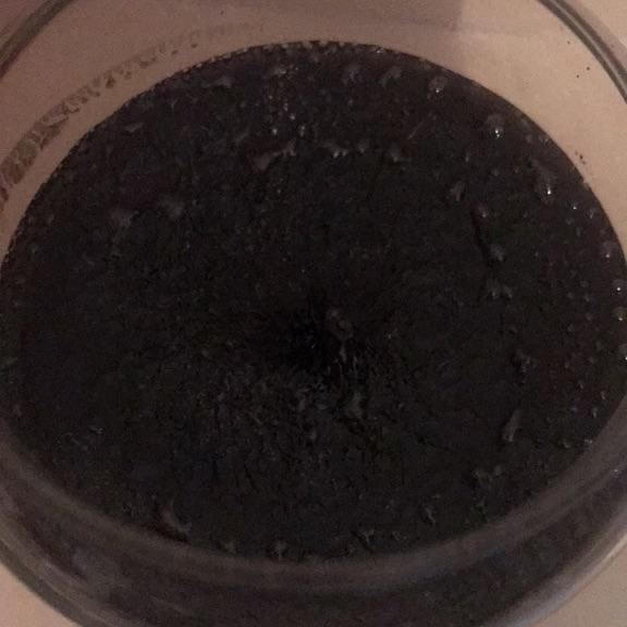 Large Yankee candle. Black coconut