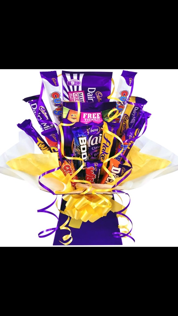 Mother's Day chocolate bouquet hamper