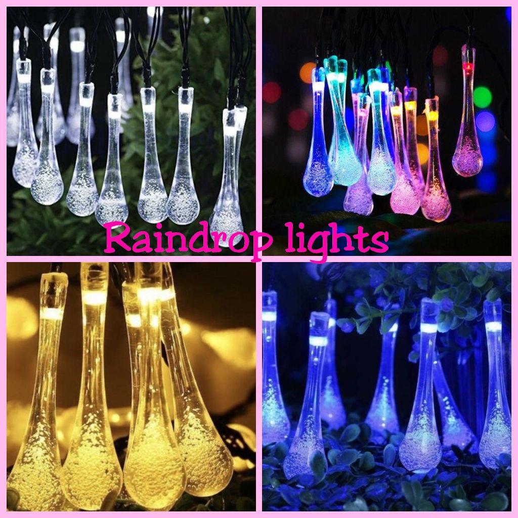Raindrop lights