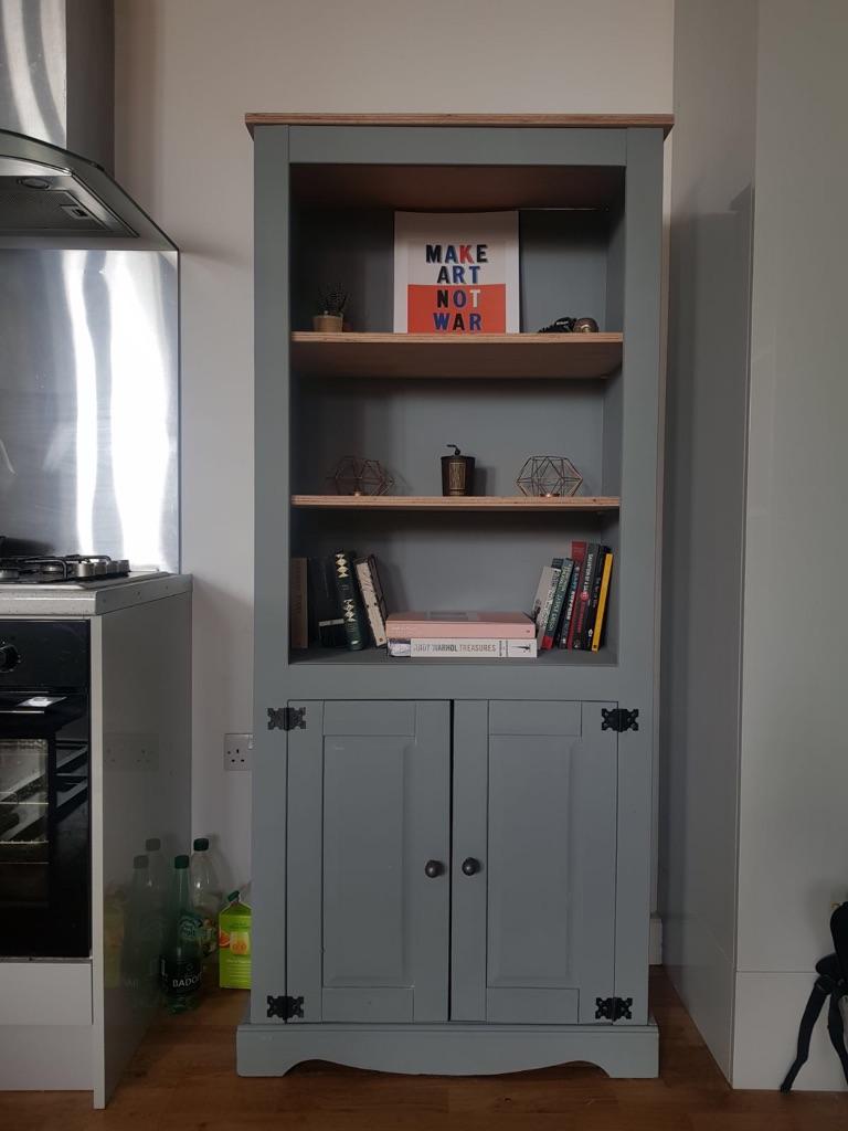 Refurbished shelving/cupboard unit.