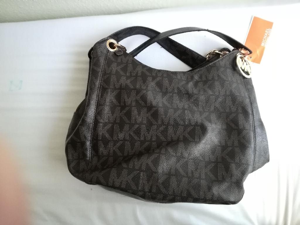 Leather MK Bag