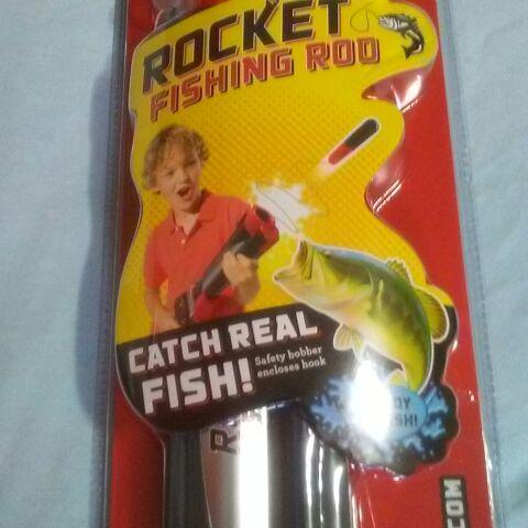 Rocket Fishing Rod for kids