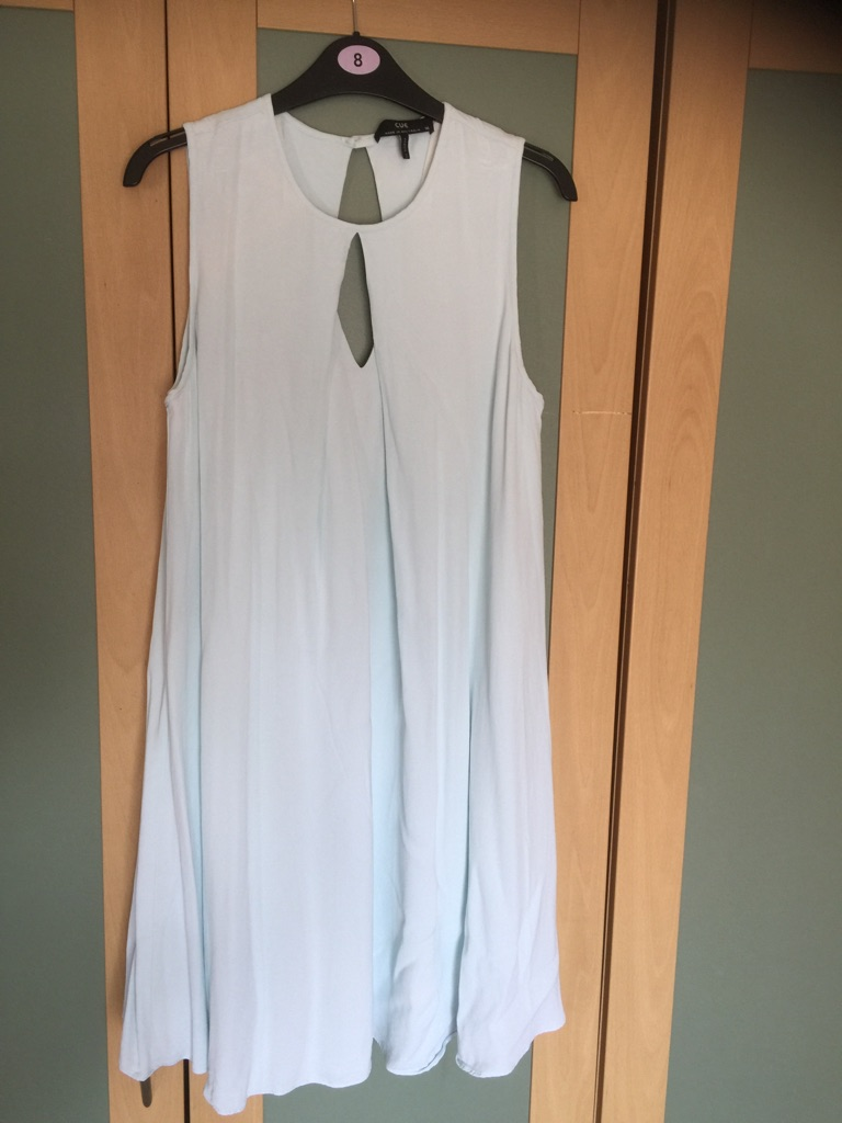 Size 14 pale blue dress from Australian brand Cue