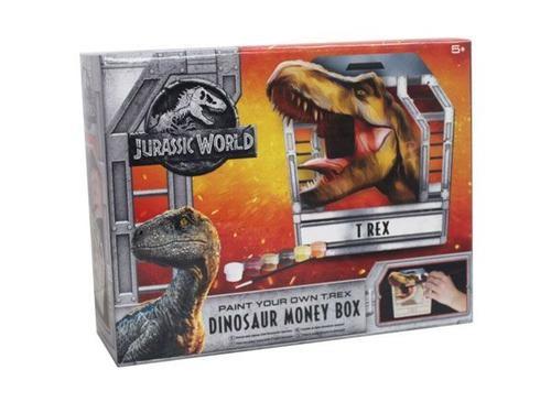 Jurassic world paint your own dinosaur money box