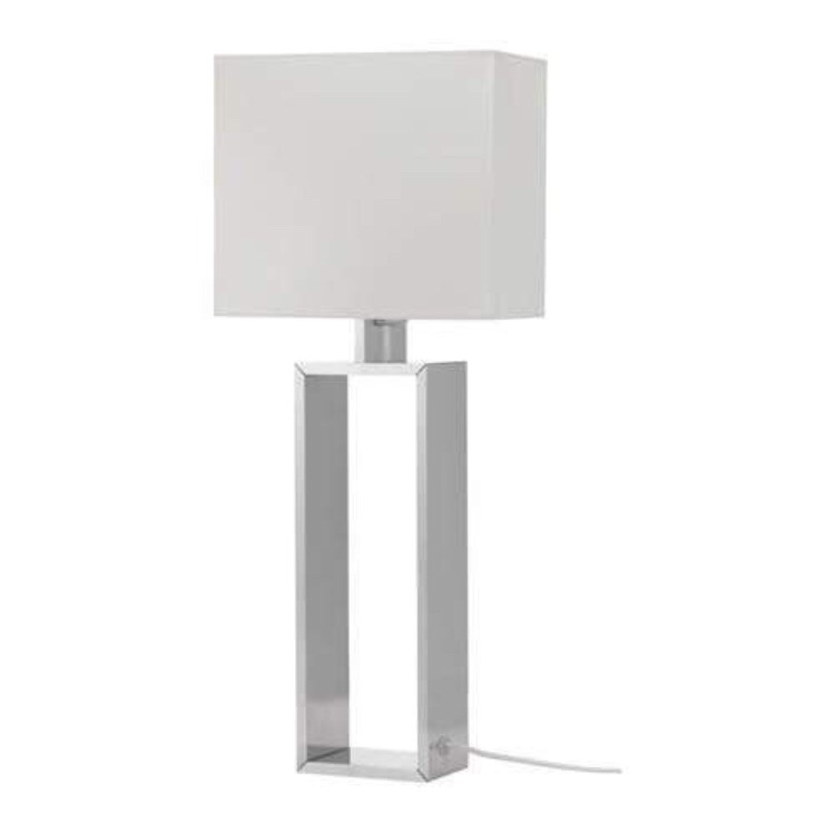 Table Lamp - Silver Lamp