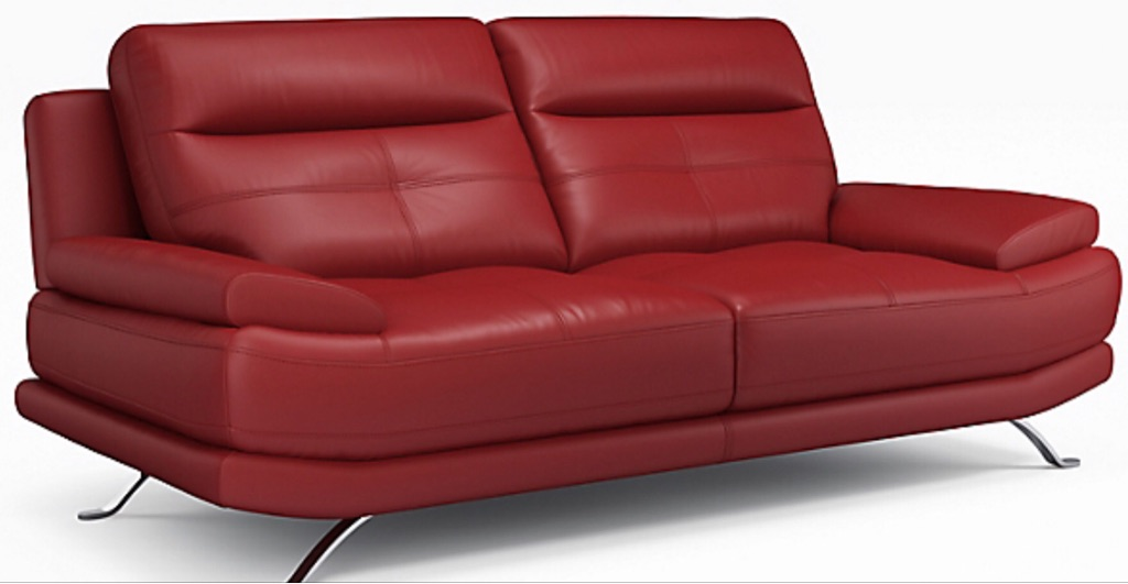 Outstanding Red Leather Sofa Download Free Architecture Designs Philgrimeyleaguecom