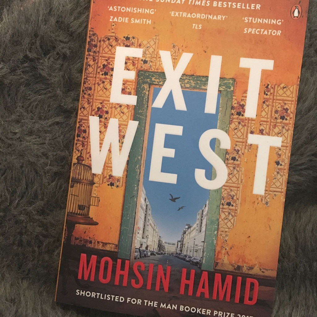 Exit west book by mohsin Hamid