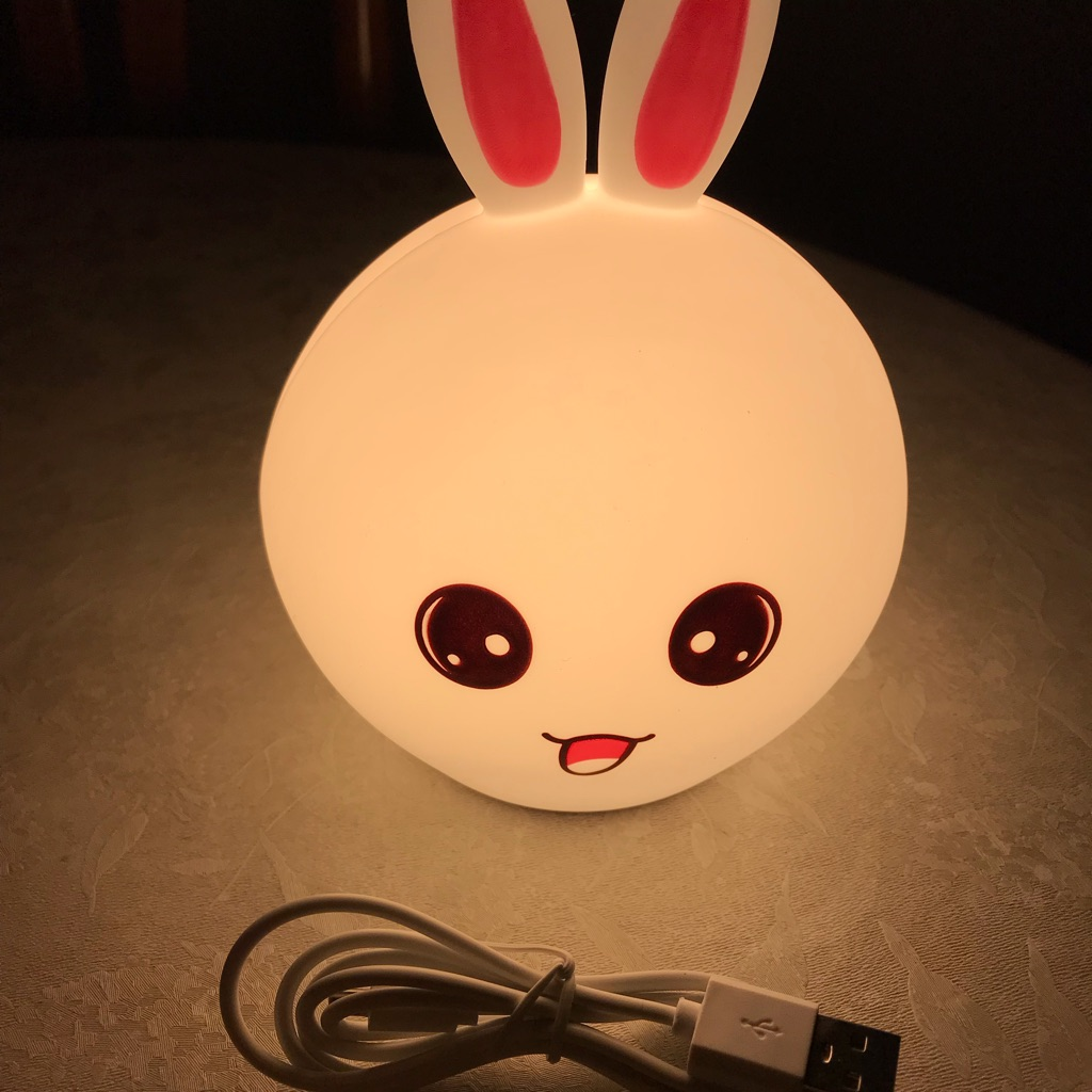 Rabbit silicone lamp - New