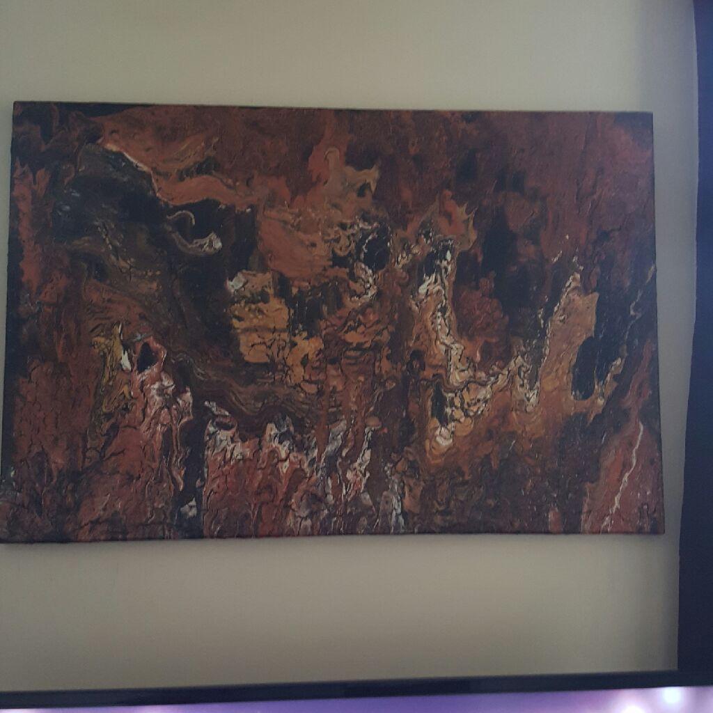 2ftx3ft  Original  Acrylic Painting.