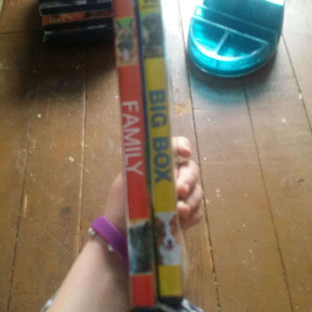 Big box of family movies