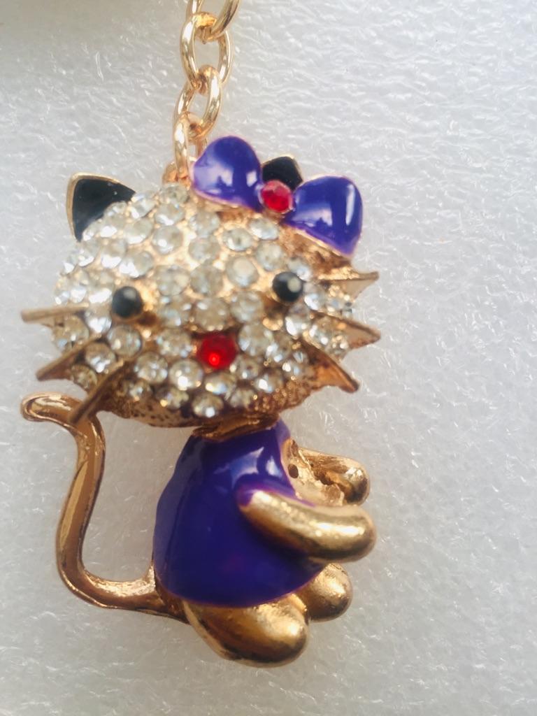 Keys ring holder with cat **** 2