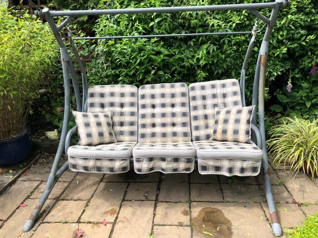 3 seater garden hammock