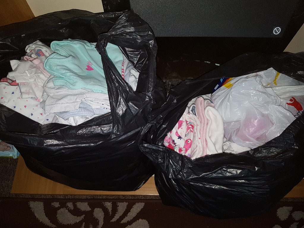 (SOLD)Baby Girl Clothes (Bundle)
