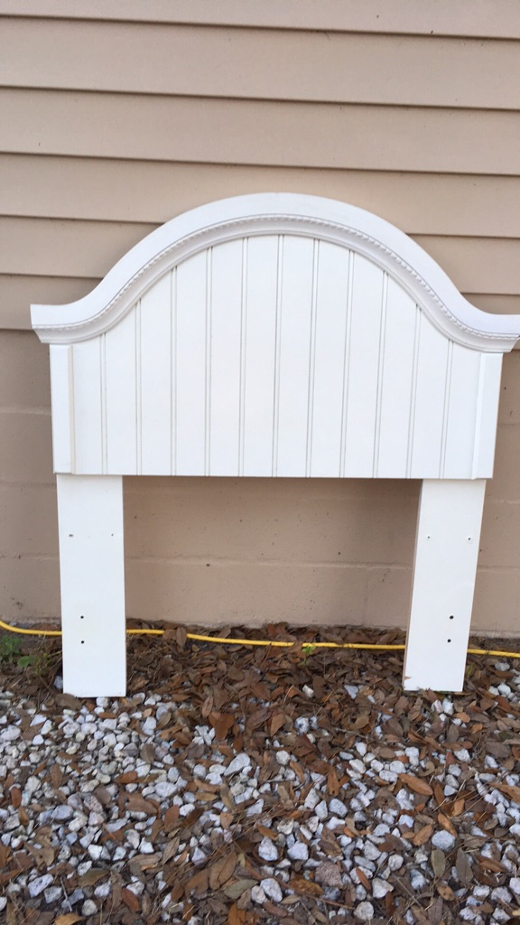 Cottage White Twin Head Board