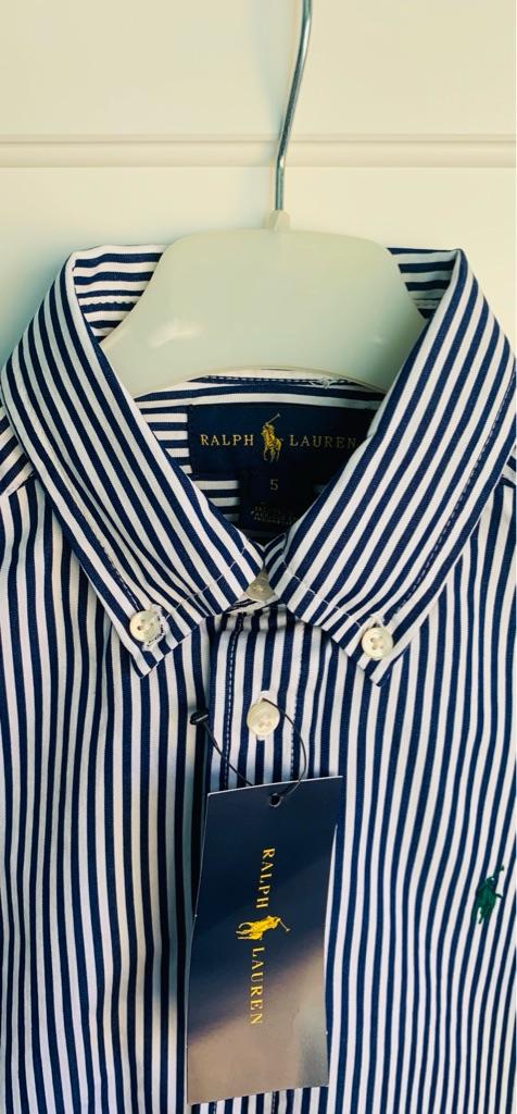 Brand New Ralph Lauren Boy's Shirt