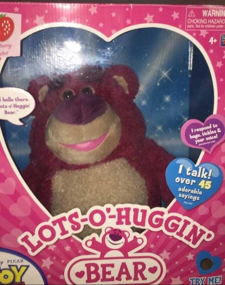 Lotso the huggin bear toy story collection