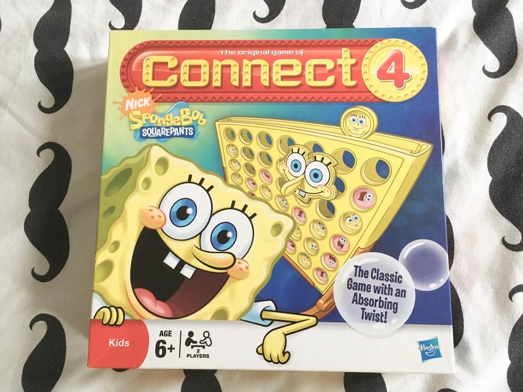 Spongebob connect 4