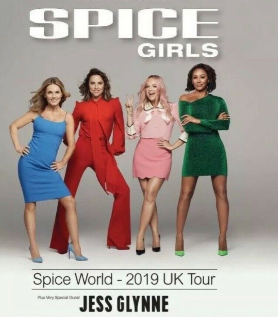 Spice Girls Tickets 14/06/19 FRIDAY