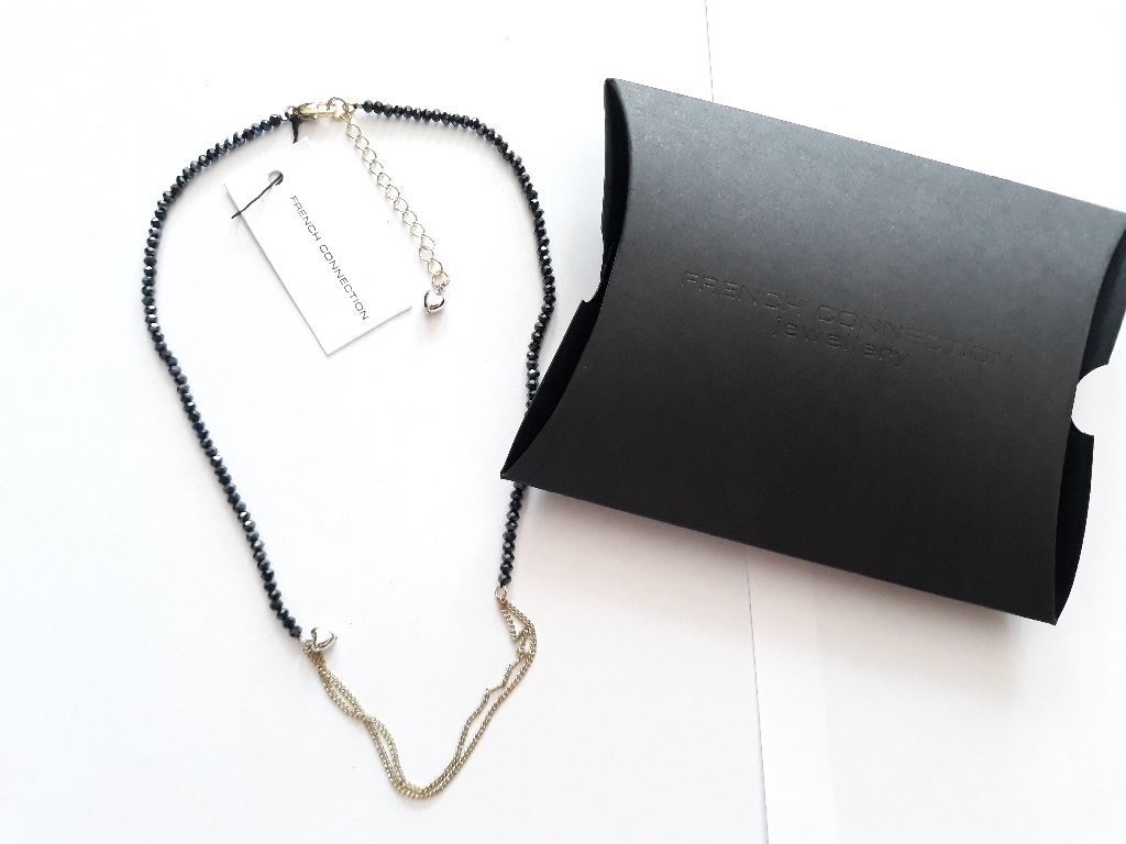French Connection Necklace RRP £25 with original Gift Box, 9 inch