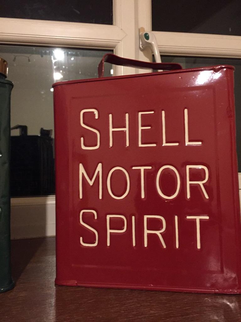 Vintage Oil/Petrol Cans