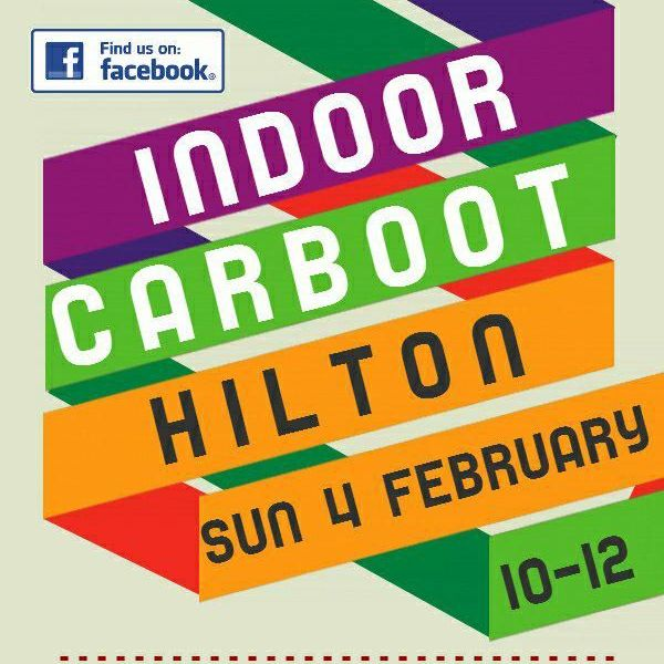 Hilton Indoor Car Boot Sale