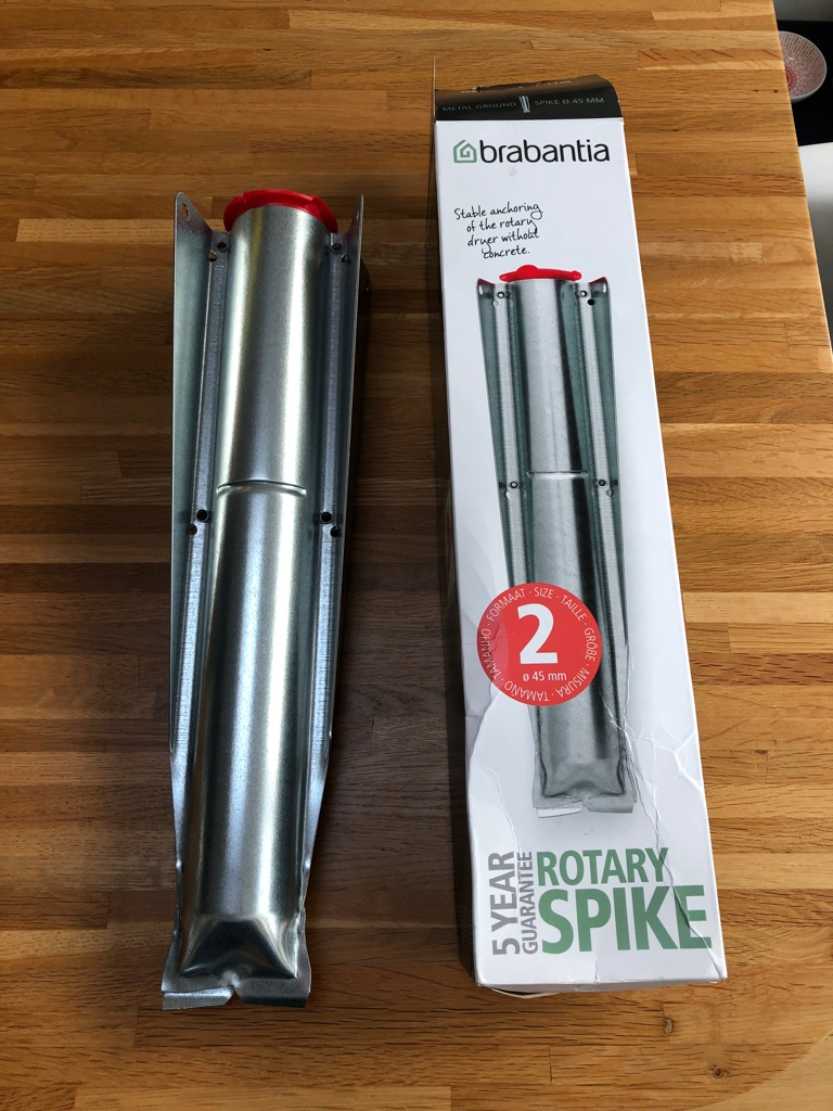 Brabantia Rotary Washing Line Spike