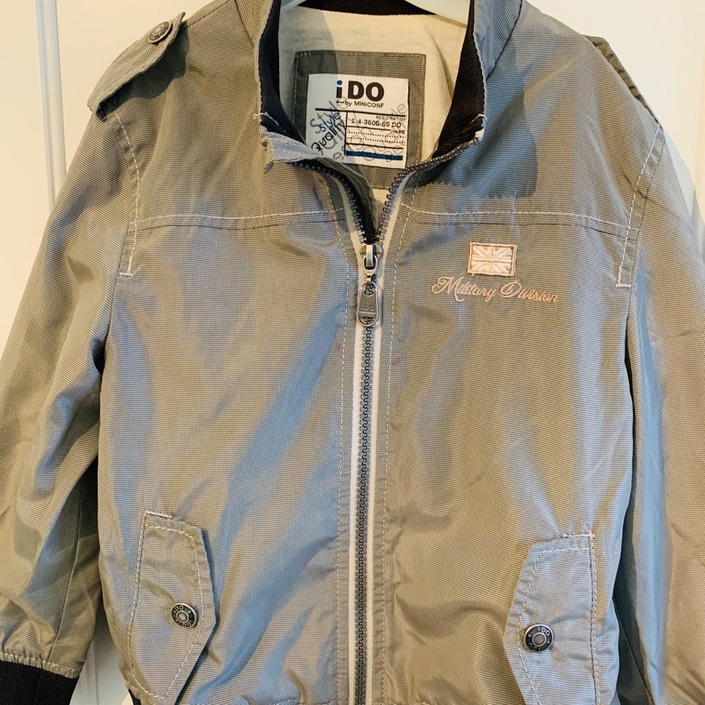 I-Do Designer Grey Smart Boy's Jacket - Aged 3 years