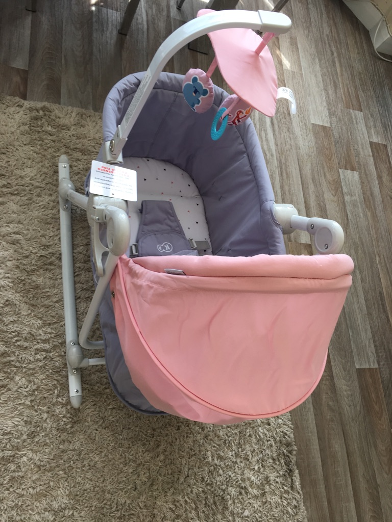 New baby swing bed