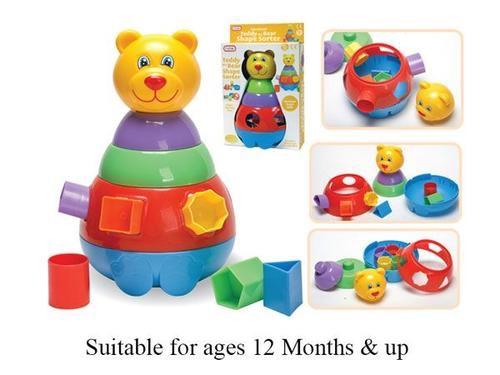 Funtime teddy bear shape sorter