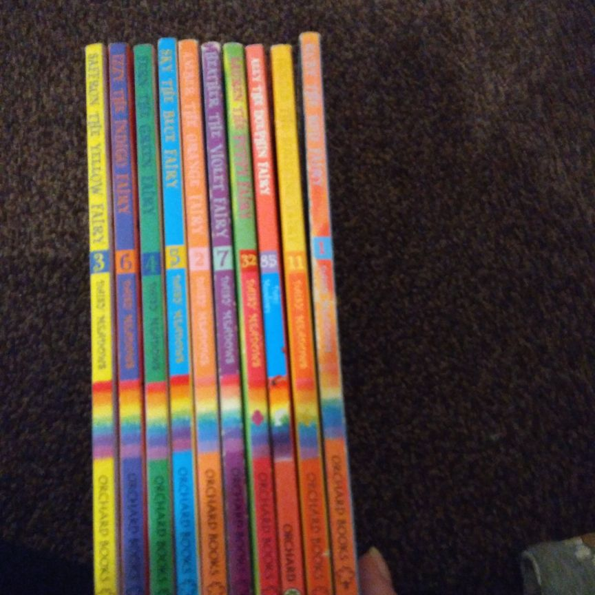 Daisy Meadows books x 10