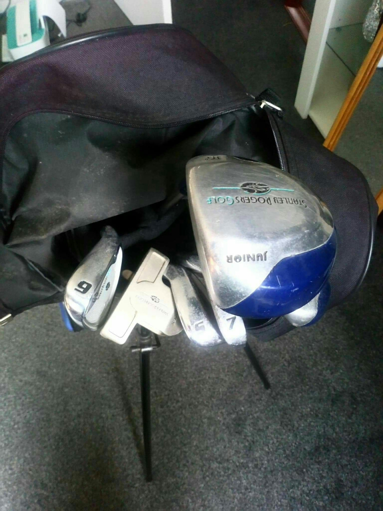 Stanley Rogers golf bag and clubs