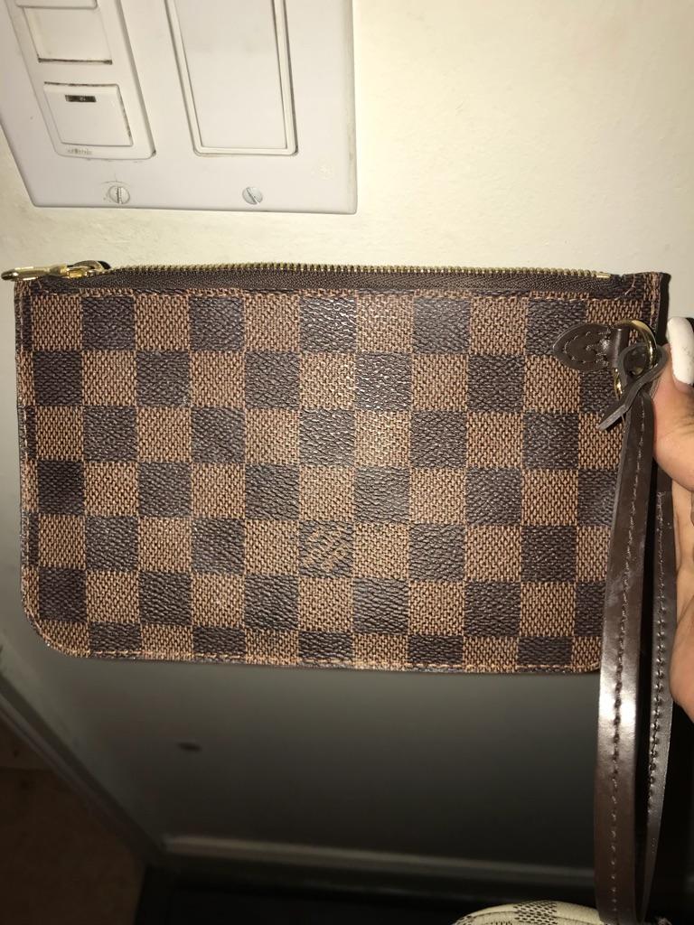Real Louis Vuitton womens clutch
