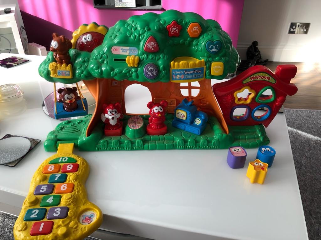 Vtech smartville 1-2-3 tree house