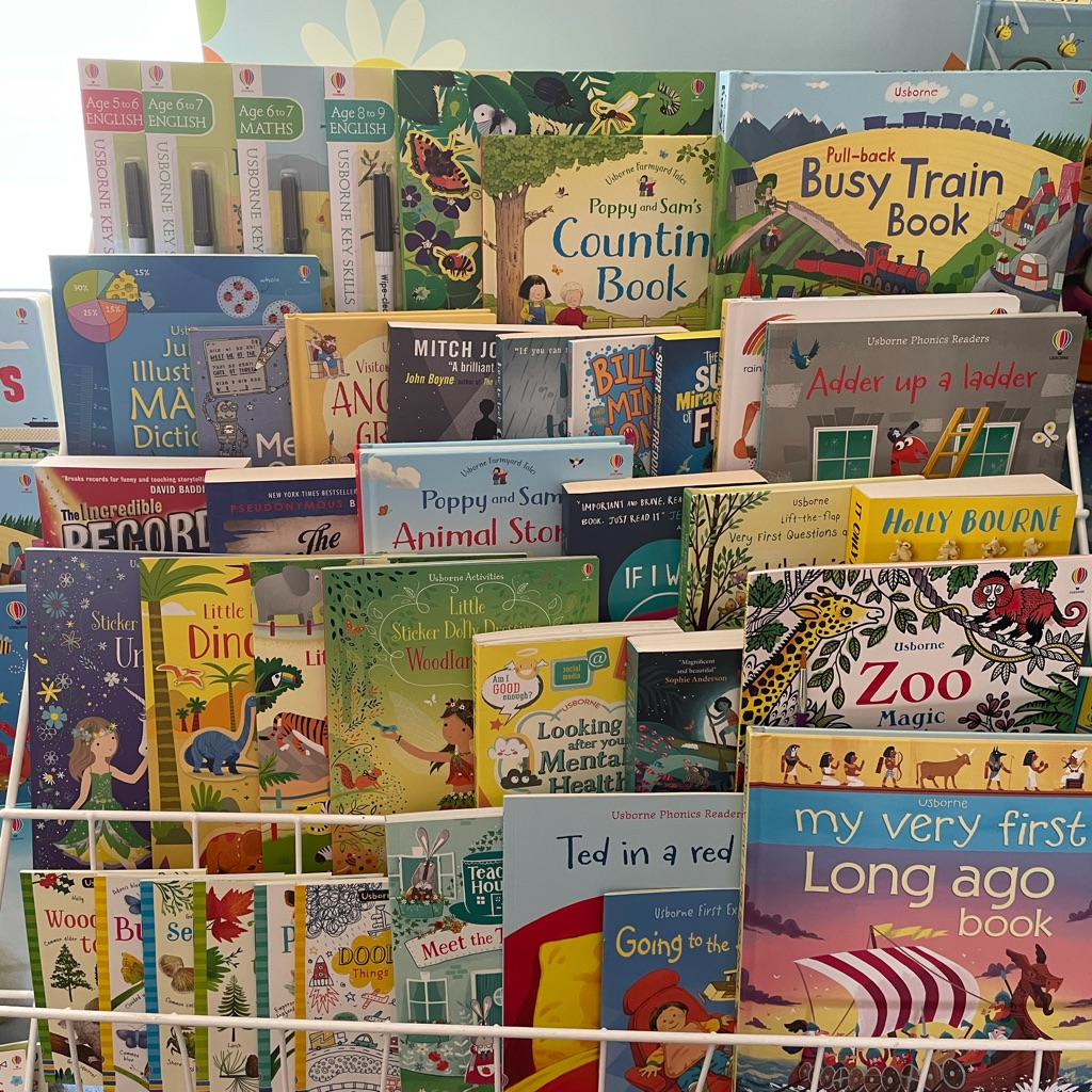 Open up a children's book shop today!