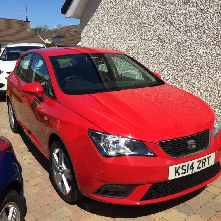 SEAT Ibiza Toca 2014, 1.4L, 58,000 miles, great condition
