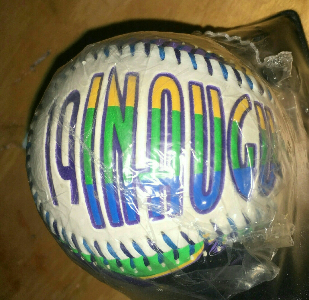 Brand new Tampa Bay Devil Rays Collectible 1998 Inaugural Baseball with stand