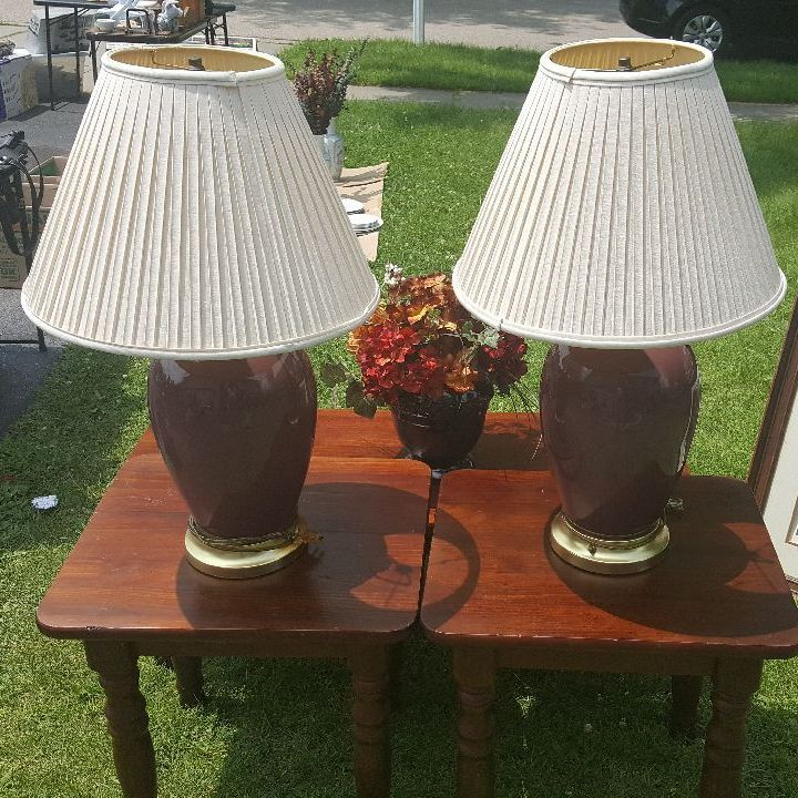 Two lamp