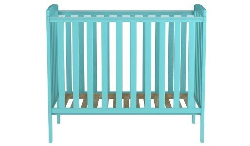 Rafferty Compact Cot (Green) with Mattress
