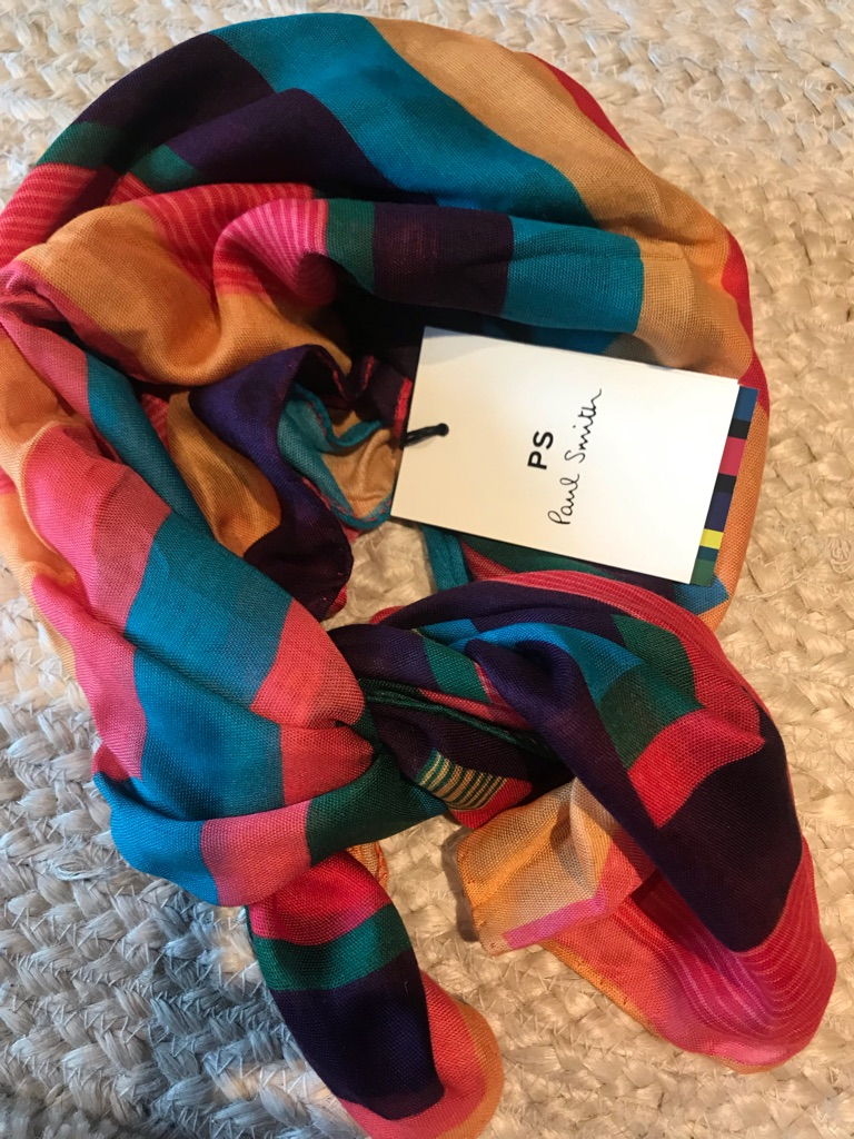 Paul Smith Rainbow Scarf