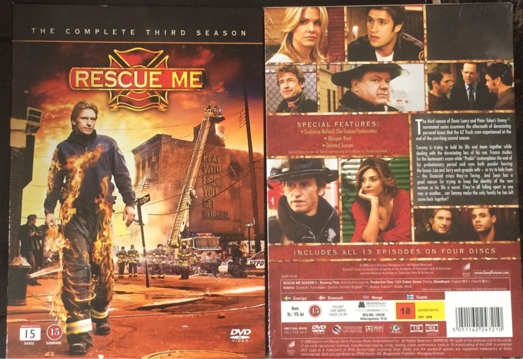 X25 rescue me  Dvd boxsets the complete third season new and factory sealed